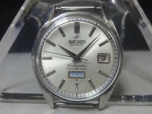 Vintage 1965 SEIKO Automatic watch [Seikomatic weekdater] 35 Jewels 6218-8970