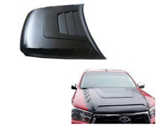 BONNET SCOOP GLOSS BLACK FOR TOYOTA HILUX  2018 2019 2020 LARGE SIZE