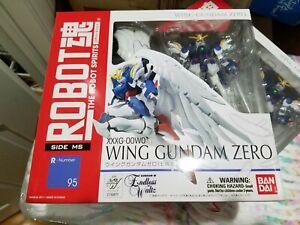 Bandai Robot Spirits Wing Gundam Zero - R-Number 95 Action Figure New