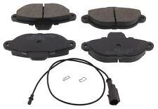 For Fiat 500 Ford Ka Lancia Y German Quality Front Axle Brake Pads Set Sensor