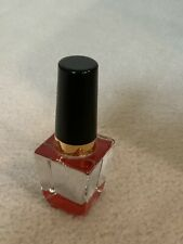 KOSTA BODA MINI GLASS MAKEUP RED NAIL POLISH BOTTLE FIGURINE