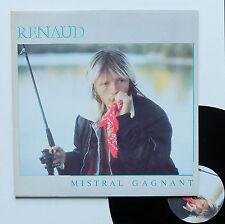 "Vinyle 33T Renaud  ""Mistral gagnant"""
