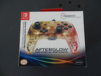 Afterglow Nintendo Switch Wireless Deluxe Controller Prismatic (NEW) #F073