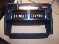 76 DATSUN 280Z DASH HEATER AND VENT CONTROLS BEZEL MAP LIGHT FUEL WARNING LAMP