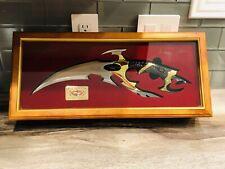 🔥 🗡Gil Hibben Kit Rae Eye Of Drakonus Gold Knife 289/2000 W. Display Case 🔥🗡