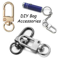 Making DIY KeyChain Lobster Clasp Hook Bags Strap Buckles Collar Carabiner Snap