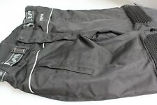 "Ladies/Gents Textile Motorbike Trousers 32/34 W 30"" Leg  Black EU 50 Hardly Worn"