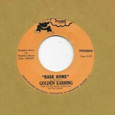 early GOLDEN EARRING * 45 * Back Home * 1960's * USA ORIGINAL * DWARF Label