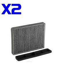 2x Cabin Air Filter Suits RCA100C Kit FORD Territory SX SY SZ & Falcon BA BF FG