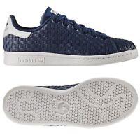 adidas ORIGINALS STAN SMITH TRAINERS JUNIORS BOYS UNISEX UK 3 4 5 SHOES SNEAKERS