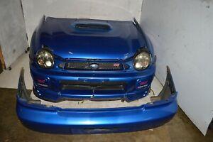 JDM 2002 2003 Subaru Impreza WRX STi Front End Bumpers Hood Headlights Fenders