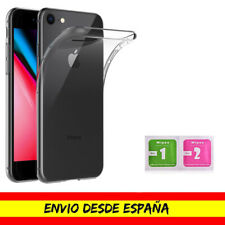 Funda Movil Apple Iphone 7 / 8 / SE 2020 Transparente Gel TPU Fina