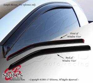 Front 2pcs JDM Visors Rain Guard Mazda B2300 B2500 B4000 1994 1995-2010 SE DS