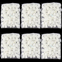 3000g(6.6lbs) Aquarium Bio Ceramic Rings in 6 Media Bags for Canister Filter