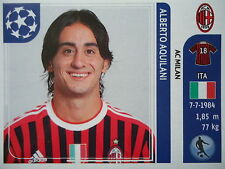 Panini 507 Alberto Aquilani AC Milan UEFA CL 2011/12