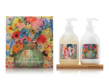 ARBONNE HERITAGE HOME COLLECTION HAND WASH + HAND LOTION 355ML + WOODEN STAND