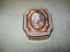Vintage Meister tin box made in Brazil