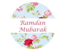 35 Ramadan Mubarak Stickers Muslim Islam Blue (665) Decorations Sticker