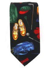 One of a Tie Brand Necktie Golf Themed