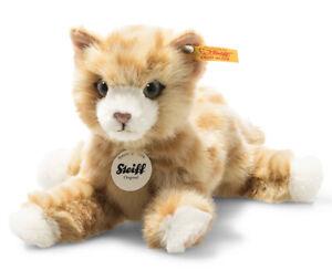 Steiff Mimmi the cat - collectable ginger plush cat / kitten - 21cm - 099229