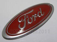 FORD ESCORT MK2 RS2000 CORTINA CAPRI CLASSIC CAR GRILL BOOT OVAL BADGE RED