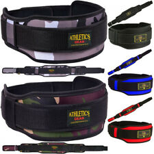 Weight Lifting Belt Gym Training Back Support Power Lumber Pain Athletics Gear