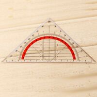 45 Degree Geometry Triangle Rulertractor Drawing Set