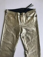 Juicy Couture Gold Skinny Trousers Size 30