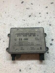 2007 mercedes-benz s-class s 320 cdi bluetooth module control unit 2118200885