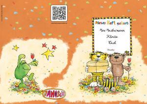 JANOSCH-Heft A4, »Geheimnisvolles Geschenk«, Druck, Farbe u. Lineatur wählbar