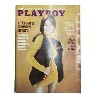 PLAYBOY Magazine Vintage Centerfold October 1972
