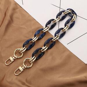 Removable Resin Chain Handbag Chain Acrylic Bag Strap Fish Bone Chain For Bags
