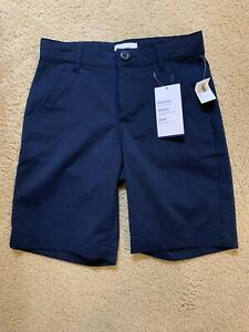 New Boys Old Navy Dry Quick Uniform Tech Shorts Navy Blue Size: 6