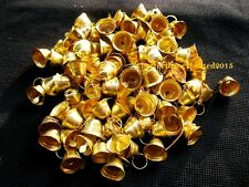 Decorative Handmade Traditional Brass Religious Small Bells Art Lots Of 110 Pcs