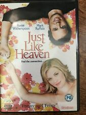 Reese Witherspoon Mark Ruffalo JUST LIKE HEAVEN ~ 2005 Afterlife Romcom | UK DVD