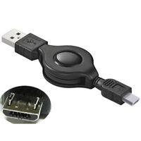 G15 ausziehbar 80cm USB Kabel Ladekabel A Stecker auf micro USB Daten Aufladen