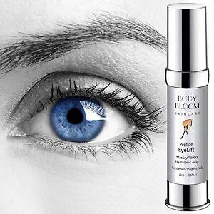 Firming Eye Lift Cream Hyaluronic Acid Matrixyl 3000 Anti Wrinkle Vitamin E