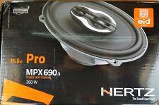 "New listing Hertz Mpx 690 Mille Pro Series 6"" x 9"" 3-Way Coaxial Speakers 6x9 Coax New  000007B9"