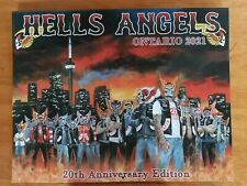 HAMC 2021 Calendar Big red machine hells angels support 81 gear Ontario Canada