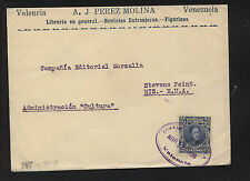 Venezuela  #278  on  cover  to  US  1930        MS0227