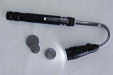 """New LED Lighted 21"""" Telescoping Magnetic Geocaching Cache Retrieval Tool TOTT"""
