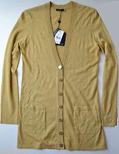 NWT $258 Magaschoni Silk Cashmere Boyfriend Cardigan Size S
