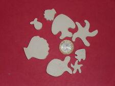 120 grammes de mosaïque plâtre blanc (forme de la mer)