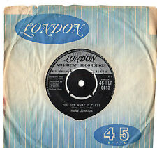 "Marv Johnson - You Got What It Takes 7"" Single 1959"