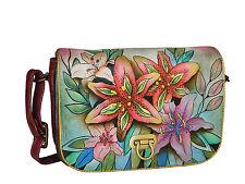 Anuschka Handtasche 512 LLY neu, Lederriemen, neue Kollektion