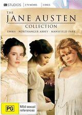 Emma (1996) / Mansfield Park (2007) / Northanger Abbey (2007) NEW R4 DVD