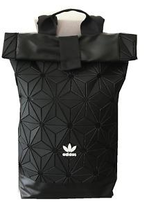Herren Damen 2020 Adidas Rucksack 3D Freizeit Schultasche Sport Backpack Schwarz