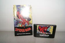 Sega Genesis Mega Drive Spider-man with manual