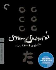Seven Samurai Blu-ray 2 Disc Criterion Collection