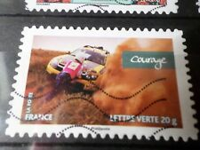 FRANCE 2013, timbre  AUTOADHESIF 801, RALLYE AICHA VOITURES oblitéré, VF STAMP